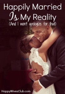 Happily-married-is-my-reality